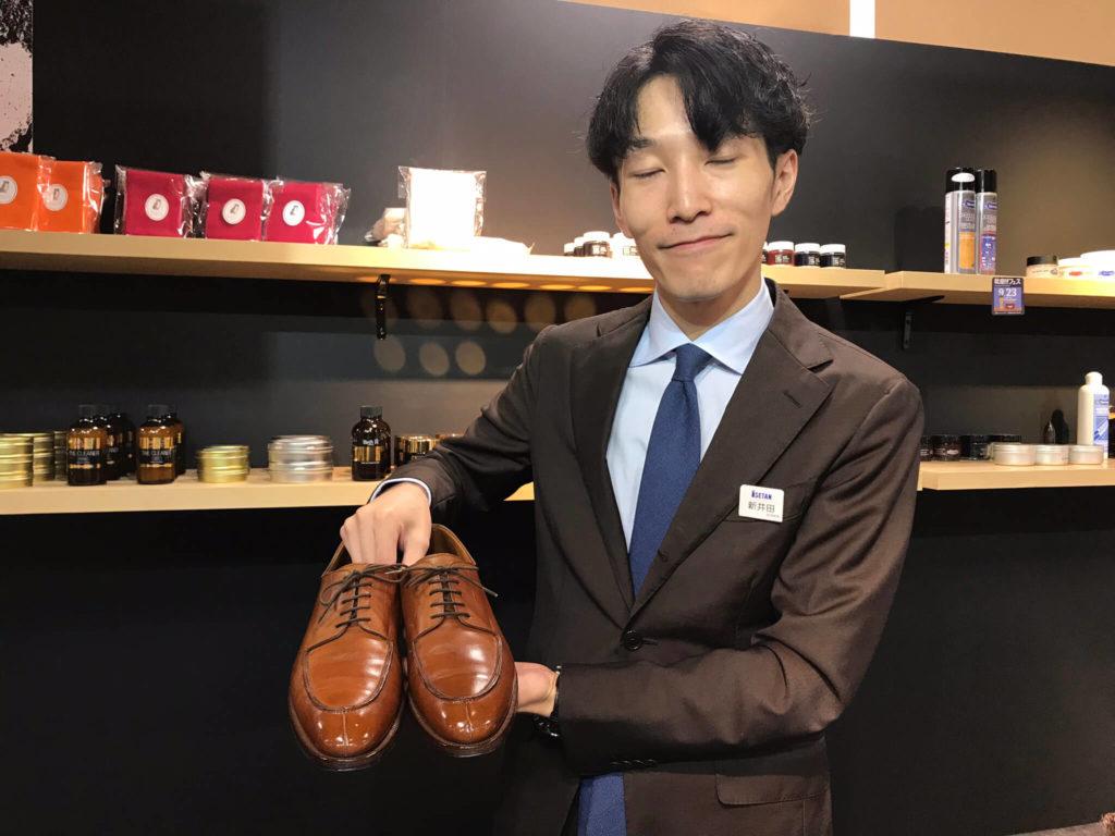 新井田さんに磨いてもらいました