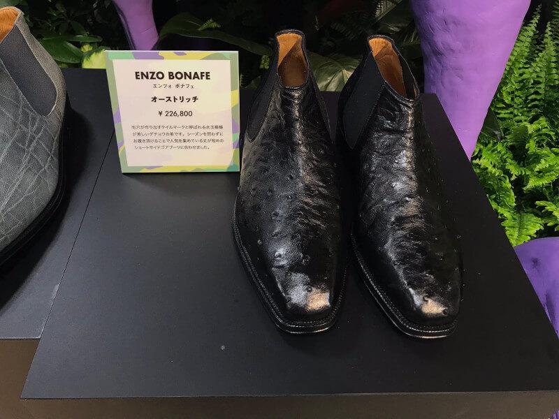 ダチョウ靴