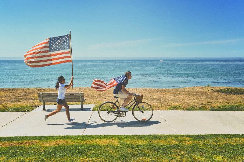 アメリカを愛している