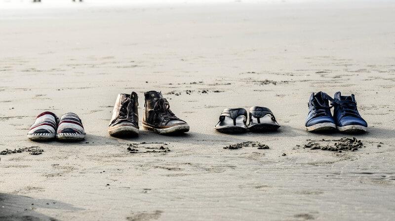 靴のローテーション