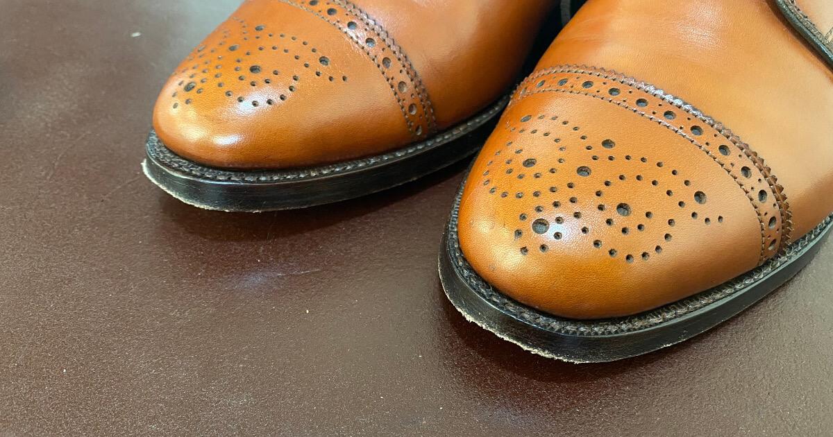 革靴のつま先が削れてきた場合の修理方法まとめ