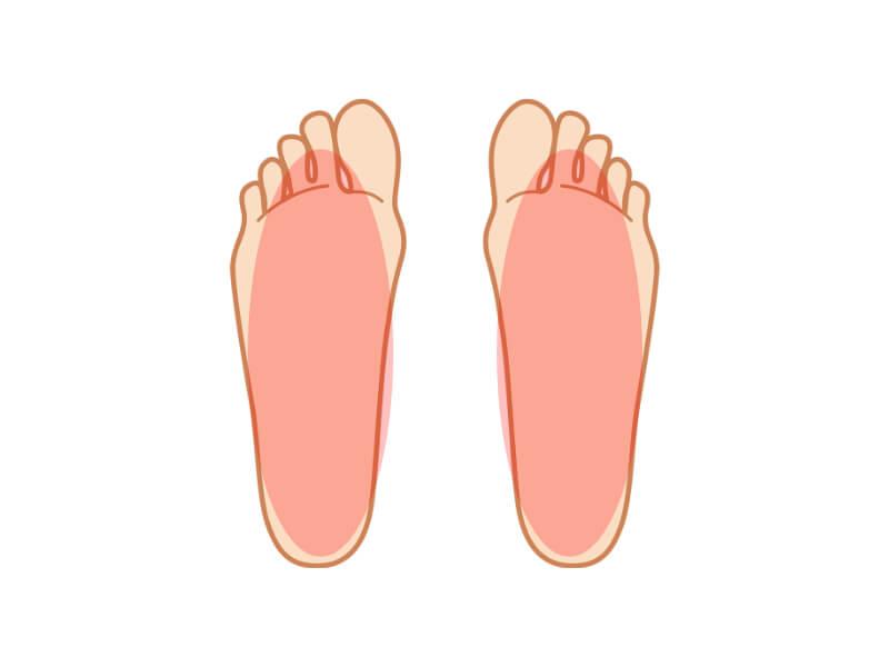 足の裏が痛い場合