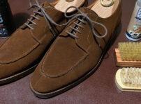 スエード靴のメンテナンス方法