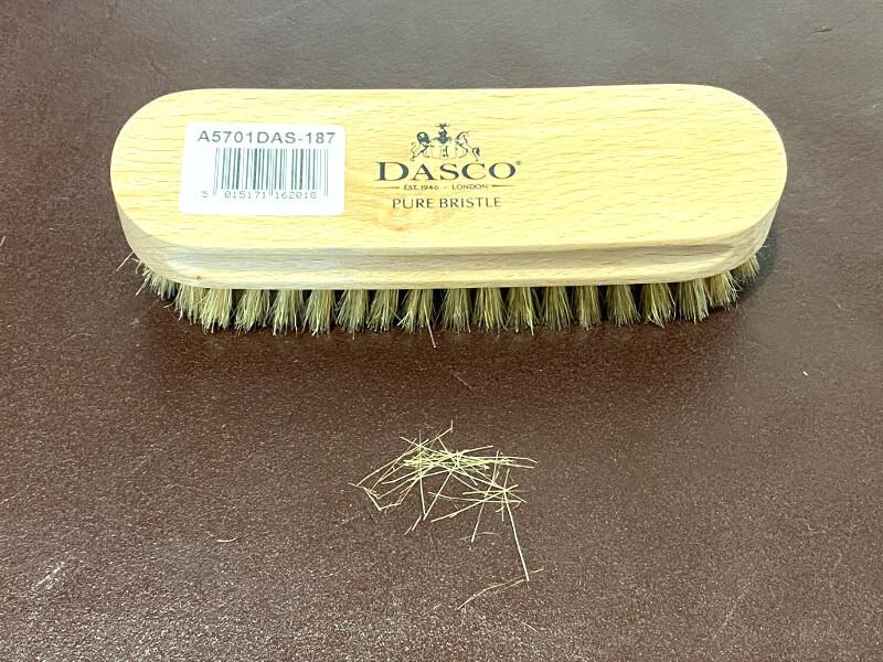 ダスコの抜け毛