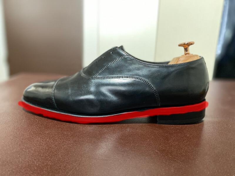 革靴のコバ